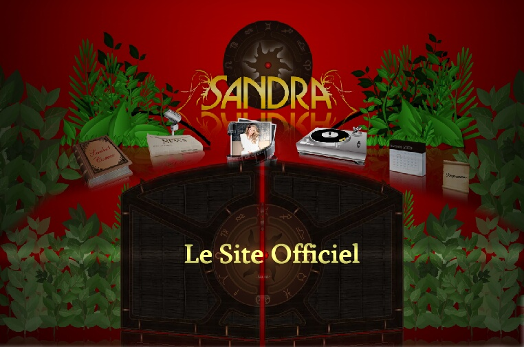 sandra site officiel